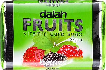 Seife mit Beeren-Extrakt und Vitaminen - Dalan Fruits Vitamin Care Soap Berries — Bild N1