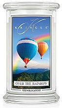 Düfte, Parfümerie und Kosmetik Duftkerze im Glas Over the Rainbow - Kringle Candle Over the Rainbow