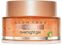 Düfte, Parfümerie und Kosmetik Nachtgel für das Gesicht - Avon True Nutra Effects Ageless Overnight Gel