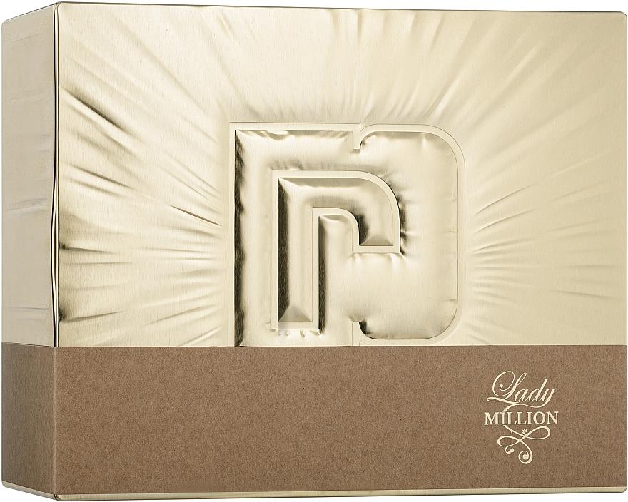 Paco Rabanne Lady Million - Duftset (Eau de Parfum 50ml + Eau de Parfum 10ml + Körperlotion 75ml)