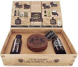 Düfte, Parfümerie und Kosmetik Dear Barber Collection V Style & Go Shaping Cream - Duftset (Eau de Toilette 30ml + Shampoo 50ml + Styling-Haarcreme 100ml)