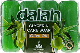 Düfte, Parfümerie und Kosmetik Glycerinseife mit Olivenöl 4x150 g - Dalan Glycerine
