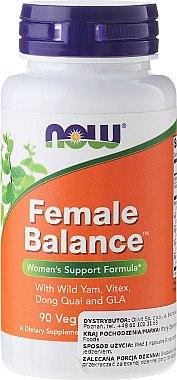Kräuterkomplex in Kapseln zum Hormonhaushalt - Now Foods Female Balance — Bild N1