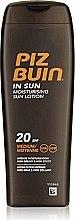 Düfte, Parfümerie und Kosmetik Körperlotion - Piz Buin In Sun Moisturizing Lotion Spf10
