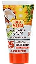 Düfte, Parfümerie und Kosmetik Wasserfeste Sonnencreme mit Aloe und Vitaminen SPF 25 - Bio Panthenol