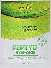 Düfte, Parfümerie und Kosmetik Tuchmaske für das Gesicht mit Schlangengiftextrakt - Conny Syn-Ake Essence Mask