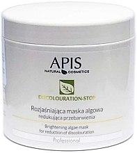 Düfte, Parfümerie und Kosmetik Aufhellende Gesichtsmaske gegen Verfärbungen - APIS Professional Discolouration-Stop Brightening Algae Mask For Reduction of Discolouration