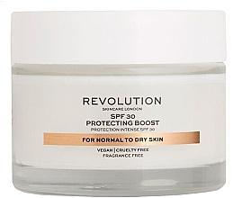 Düfte, Parfümerie und Kosmetik Feuchtigkeitsspendende Gesichtscreme mit Sonnenschutz SPF 30 - Revolution Skincare Protecting Boost SPF30