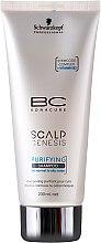 Düfte, Parfümerie und Kosmetik Tiefenreinigendes Shampoo für fettige Kopfhaut - Schwarzkopf Professional BC Bonacure Scalp Genesis Purifying Shampoo