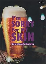 Düfte, Parfümerie und Kosmetik Regenerierende Tuchmaske - Ultru I'm Sorry For My Skin Jelly Mask Revitalizing