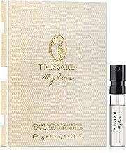 Düfte, Parfümerie und Kosmetik Trussardi My Name - Eau de Parfum (Probe)