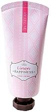 Düfte, Parfümerie und Kosmetik Feuchtigkeitsspendende Handcreme mit Leinsamenextrakt - Welcos Around Me Happiness Hand Cream Linen