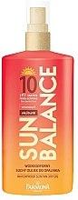 Düfte, Parfümerie und Kosmetik Trockenes Bräunungsöl SPF 10, wasserdicht - Farmona Sun Balance SPF10