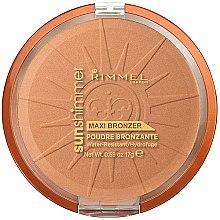 Düfte, Parfümerie und Kosmetik Gesichtspuder - Rimmel Sunshimmer Maxi Bronzer