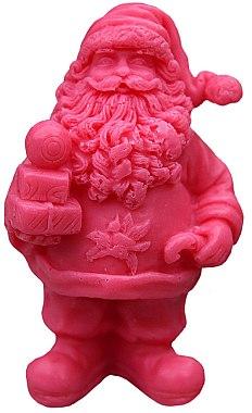 Handgemachte Naturseife Nikolaus mit Kirschduft - LaQ Happy Soaps Natural Soap — Bild N1