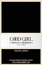 Carolina Herrera Good Girl Travel - Duftset (Eau de Parfum Mini 3x20ml) — Bild N3