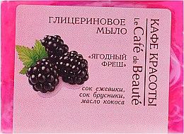 Düfte, Parfümerie und Kosmetik Glycerinseife Fresh Berries - Le Cafe de Beaute Glycerin Soap