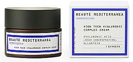 Düfte, Parfümerie und Kosmetik Gesichtscreme-Konzentrat mit Hyaluronsäure - Beaute Mediterranea High Tech Hyaluronic Complex Cream
