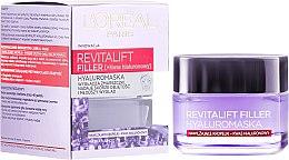 Düfte, Parfümerie und Kosmetik Glättende Anti-Falten Gesichtsmaske mit Hyaluronsäure - L'Oreal Paris Revitalift Filler Mask