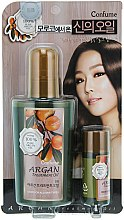 Haarpflegeset - Welcos Confume Argan Treatment Oil (Haaröl 120ml + Haaröl 25ml) — Bild N1