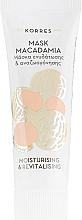 Feuchtigkeitsspendende und revitalisierende Gesichtsmaske mit Macadamiaöl - Korres Macadamia — Bild N1