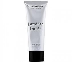Düfte, Parfümerie und Kosmetik Miller Harris Lumiere Doree - Handcreme