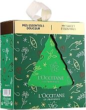 Düfte, Parfümerie und Kosmetik Körperpflegeset - L'Occitane Almond Tree (Duschöl 30ml + Körpermilch 20ml + Handcreme 10ml)
