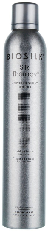 Fixierspray mit starkem Halt - BioSilk Silk Therapy Firm Hold Finishing Spray — Bild N1