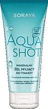 Düfte, Parfümerie und Kosmetik Mineralisches Gesichtsreinigungsgel mit Hyaluronsäure - Soraya Aquashot