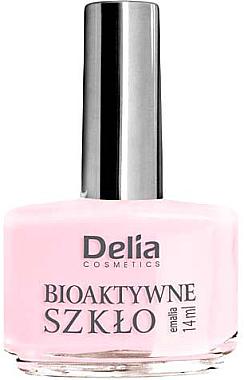2in1 Nagellack mit bioaktivem Glas - Delia Cosmetics Bioactive Glass Nail Polish — Bild N1