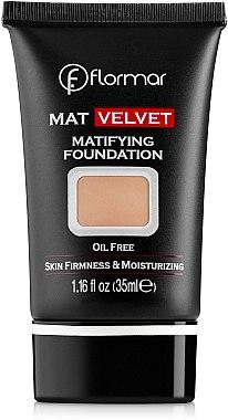 Mattierende Foundation - Flormar Mat Velvet Matifying Foundation — Bild N1
