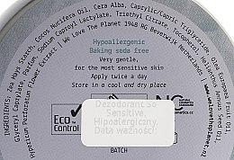 Natürliche Deo-Creme für empfindliche Haut - We Love The Planet Deodorant So Sensitive — Bild N2