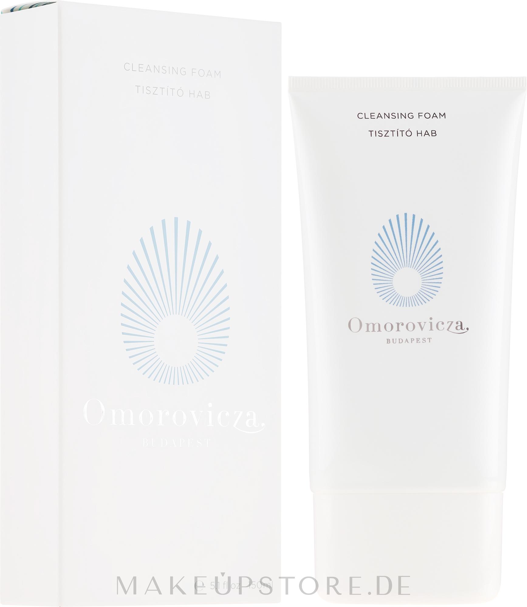 Erfrischender Gesichtsreinigungsschaum mit Apfelpektin und Lupineneiweiß - Omorovicza Cleansing Foam — Bild 150 ml