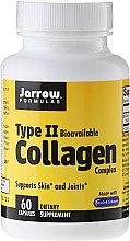 Düfte, Parfümerie und Kosmetik Nahrungsergänzungsmittel Kollagen Typ II für gesunde Haut und Gelenke - Jarrow Formulas Type II Collagen Complex