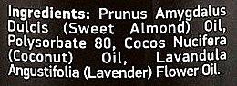 Körperreinigungsöl mit Mandel-, Kokos- und Lavendelöl - Beauty Jar Velvet Skin Body Cleansing Oil — Bild N3