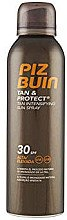 Düfte, Parfümerie und Kosmetik Sonnenschutzspray SPF 30 - Piz Buin Tan&Protect Tan Intensifying Sun Spray SPF30