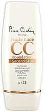 Düfte, Parfümerie und Kosmetik Pflegende CC Creme mit LSF 15 - Pierre Cardin Nude Face CC Foundation Second Skin SPF 15