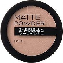 Düfte, Parfümerie und Kosmetik Mattierender Puder LSF 15 - Gabriella Salvete Matte Powder SPF15
