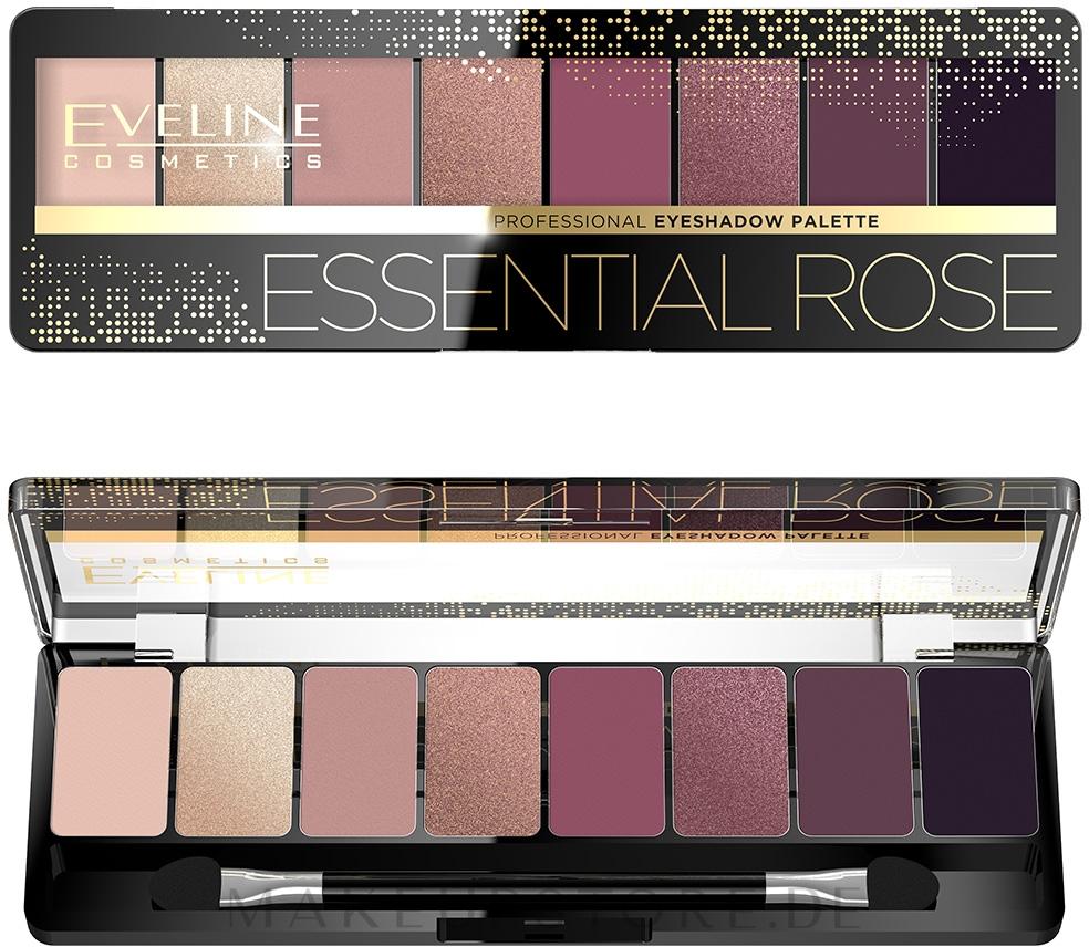 Lidschattenpalette - Eveline Cosmetics Professional Eyeshadow Palette — Bild 05 - Essential Rose