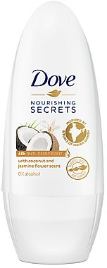 Deo Roll-on Antitranspirant - Dove Nourishing Secrets Restoring Ritual — Bild N1