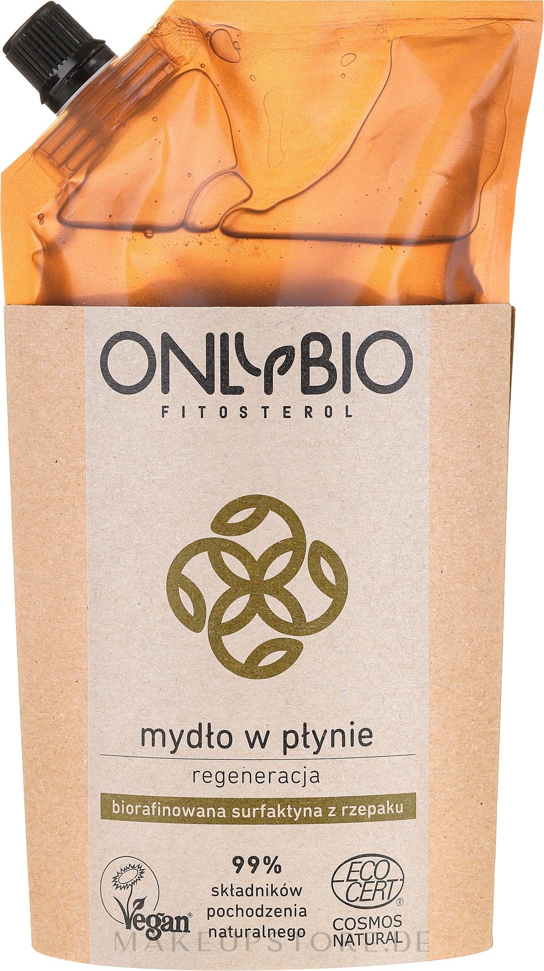 Natürliche Flüssigseife - Only Bio (Doypack) — Bild 500 ml