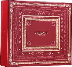 Düfte, Parfümerie und Kosmetik Versace Eros Flame - Duftset (Eau de Parfum 100ml + Duschgel 150ml + Eau de Parfum 10ml)