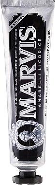 Zahnpasta mit Lakritz, Minze und Xylitol - Marvis Amarelli Licorice + Xylitol — Bild N2