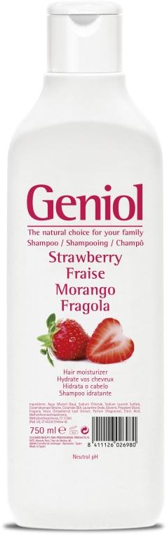 Feuchtigkeitsspendendes Shampoo für die ganze Familie mit Erdbeere - Geniol Shampoo — Bild N1