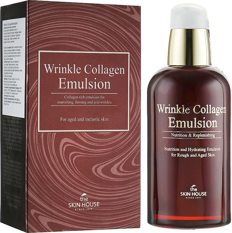 Gesichtsemulsion gegen Falten mit Kollagen - The Skin House Wrinkle Collagen Emulsion — Bild N1