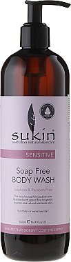 Körperwaschgel für empfindliche Haut - Sukin Sensitive Soap Free Body Wash — Bild N3