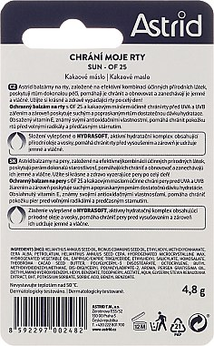 Lippenbalsam - Astrid Protective Lip Balm Spf 25 — Bild N2