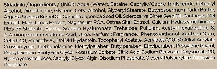 Straffende Anti-Falten Gesichtscreme mit Manuka-Honig - Eveline Cosmetics Bio Manuka Bee Lift-tox 50+ — Bild N2