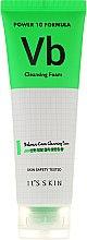 Düfte, Parfümerie und Kosmetik Gesichtsreinigungsschaum mit Vitamin B6 und Fruchtextrakten für Problemhaut - It's Skin Power 10 Formula Cleansing Foam VB