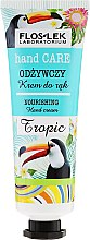 Düfte, Parfümerie und Kosmetik Pflegende Handcreme - Floslek Nourishing Hand Cream Tropic
